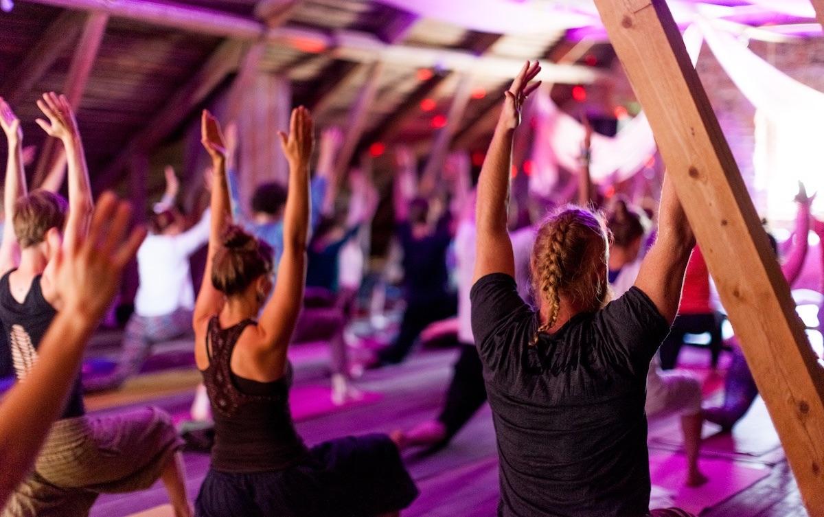 yoga festival natural high finland