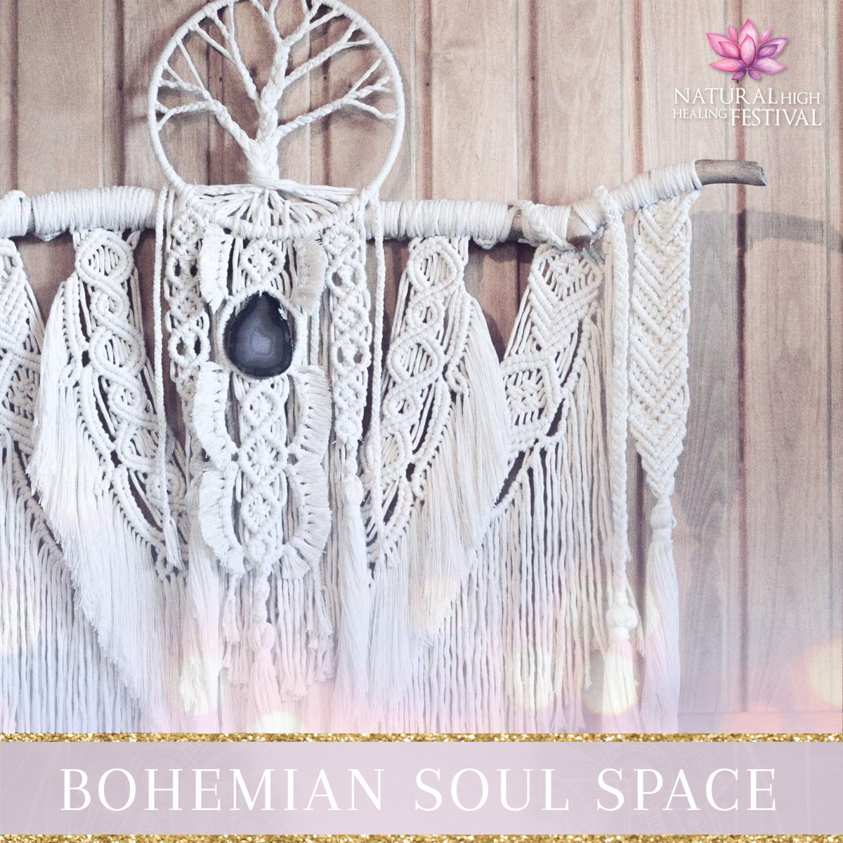 Bohemian soul space at Natural High Festival