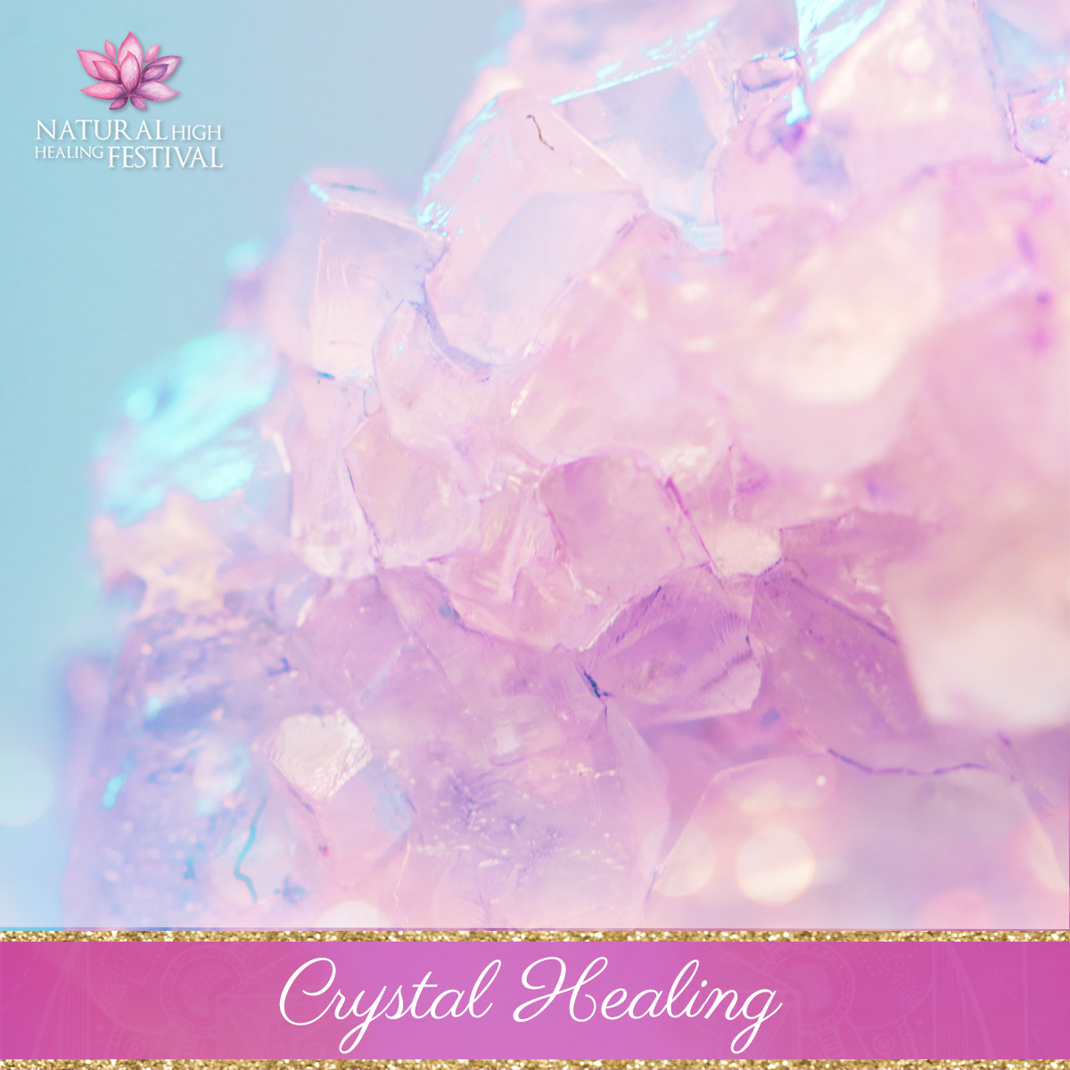 crystal healing at natural high healing  festival