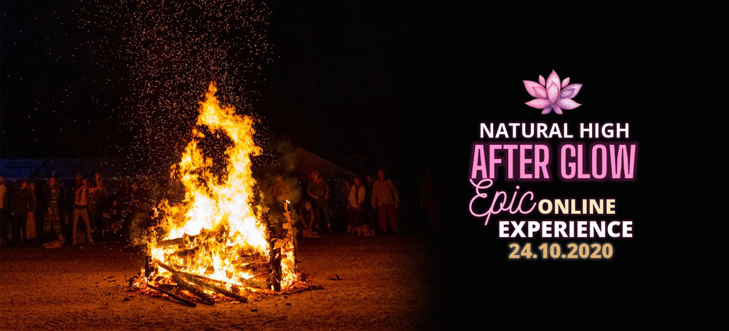 Natural High Festival Online Experience tapahtuma