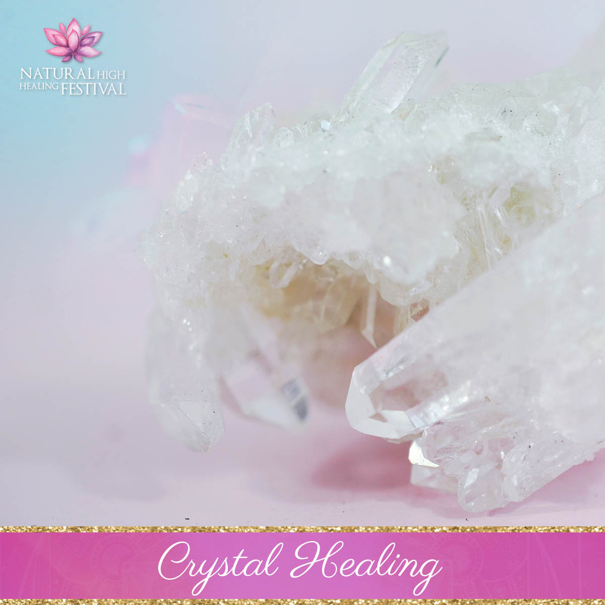 crystal healing at natural high healing  festival