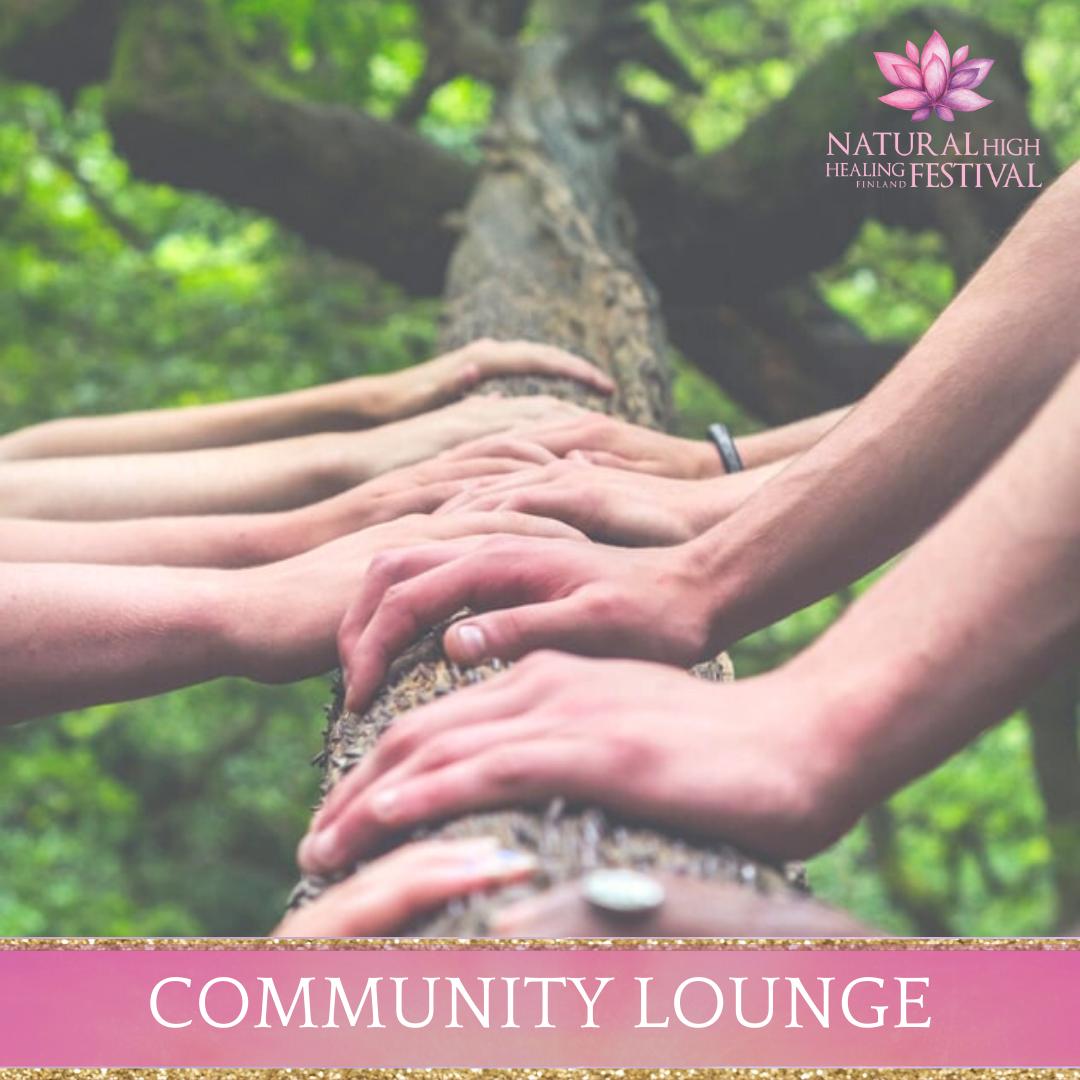 silence zone at natural high healing  festival